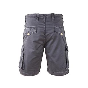 Wildcraft Men Cotton Cargo Bermuda - Dark Grey