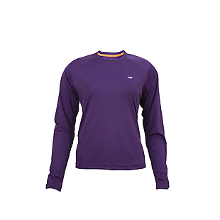 Wildcraft Women Hypacool Full Sleeve Poly Tee - Purple