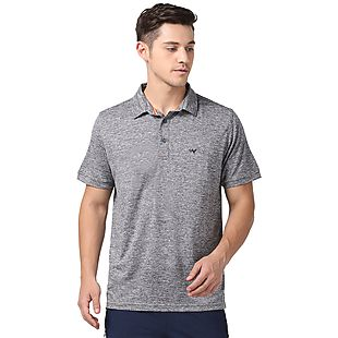 Wildcraft Men Poly Grindle Polo