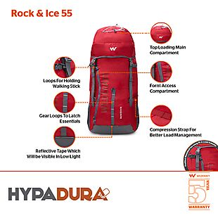 Wildcraft Rock and Ice 55