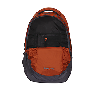 Wildcraft Peza Laptop Backpack With Internal Organizer - Orange
