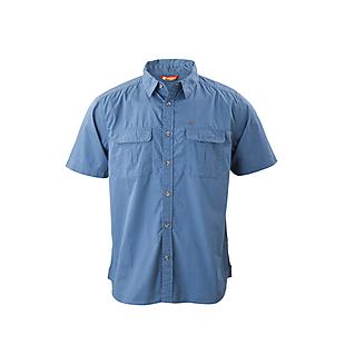 Wildcraft Wildcraft Men Half Sleeve Solid Cotton Shirt - Dark Blue