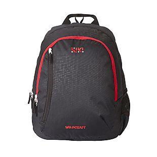 Wildcraft Wiki By Wildcraft Bricks 3 Backpack - Black