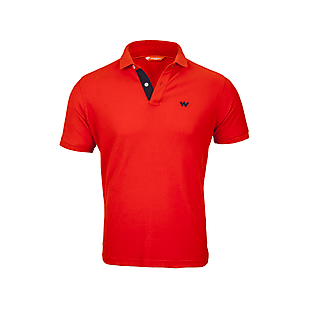 Wildcraft Men Polo T Shirt - Orange