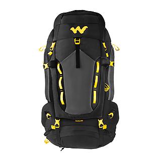 Wildcraft Rucksack For Trekking Rodhas 65L - Black
