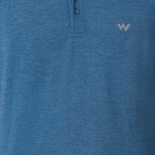 Wildcraft Men Tipping Polo T-Shirt - Navy