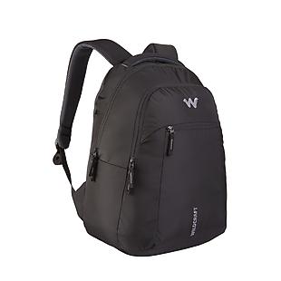 Wildcraft Pace Unisex Backpacks - Black