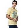 Wildcraft Men Printed T-Shirt - Yellow